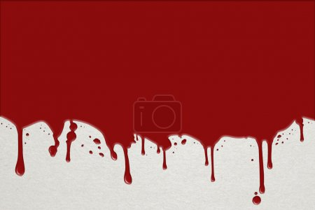 Background with flowing blood for halloween invita...
