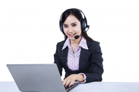 Isolated helpline operator