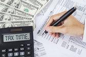 Daňové čas pro placení daně 1