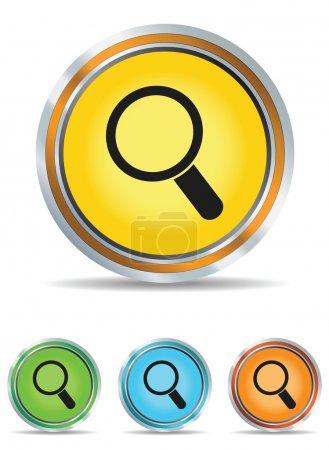 Search icons set