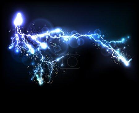 Vector light flash