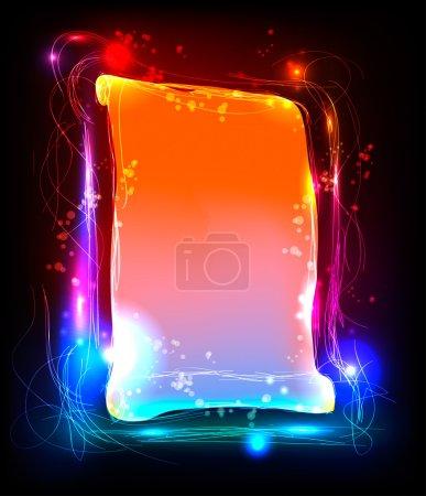 light banner design