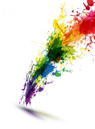 Illustration for EPS10 vector ink abstract background - Royalty Free Image