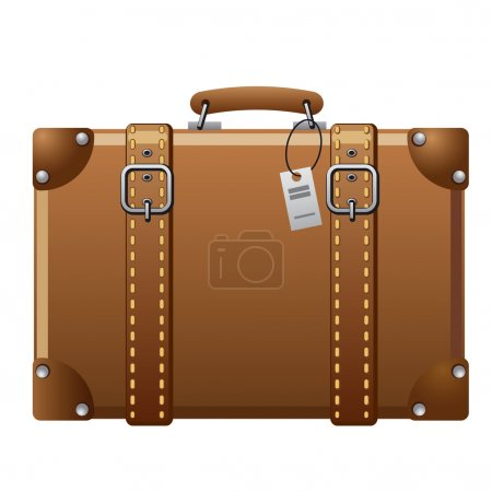 Illustration for Suitcase icon - Royalty Free Image