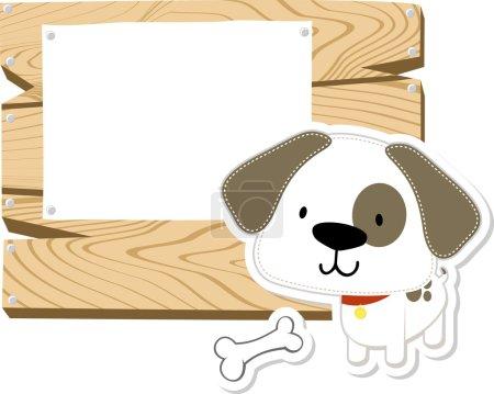 Baby doggy blank board