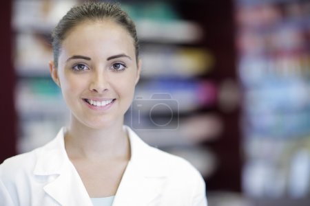 Environmental Portrait of a medical personnel, or ...