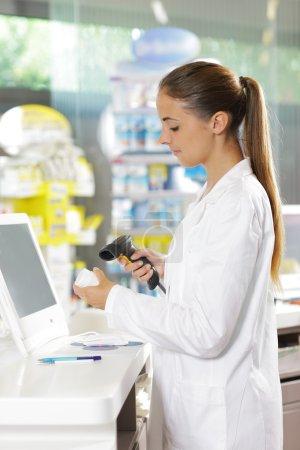 Pharmacy: Scanning a Pill Bottle