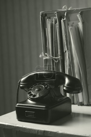Old phone in office