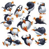 Vicces pingvinek