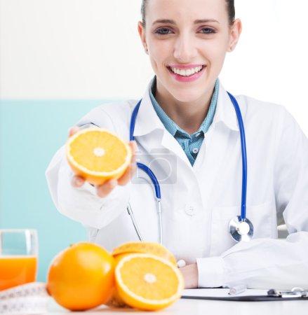 Happy female Nurse