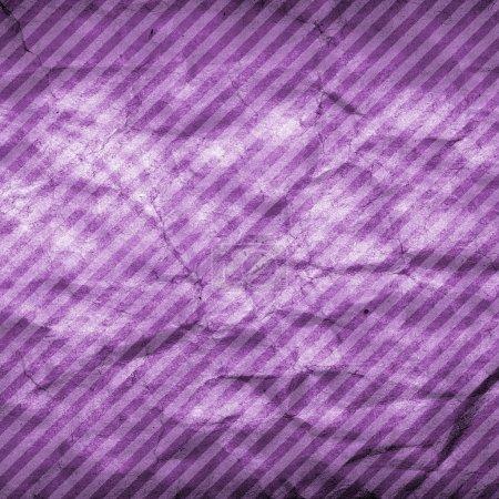 Photo pour Fond en papier violet avec des rayures - image libre de droit