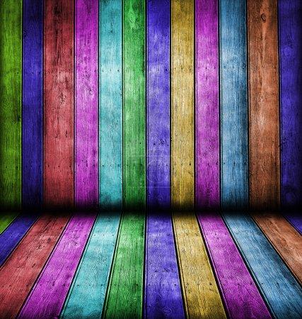 Photo pour Couleur bois fond - image libre de droit