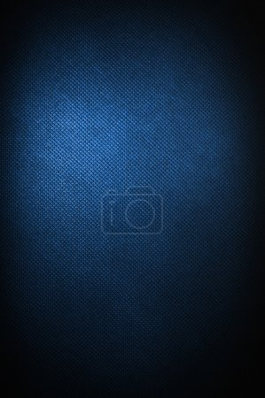 Photo for Corduroy polipropylen blue background - Royalty Free Image