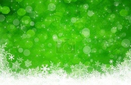 Photo for Green christmas background - Royalty Free Image