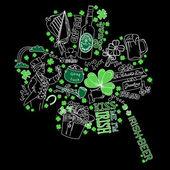 Saint Patrick's Day doodles