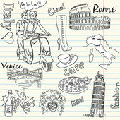 Italy doodle