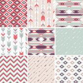 Pattern in aztec style