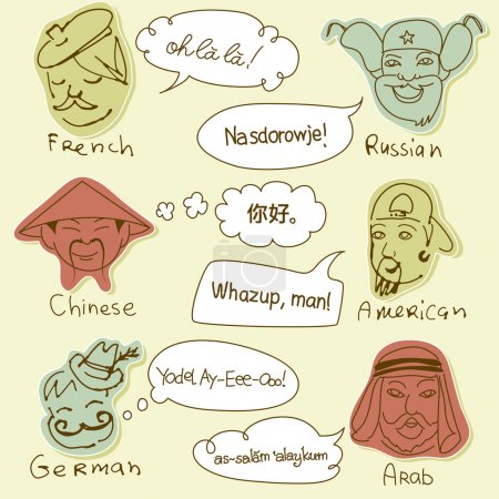 Different nationalities