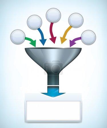 Funnel presentation template