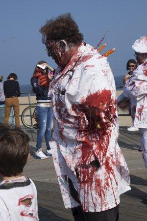 Asbury Park Zombie Walk 2013 - Doctor Zombie