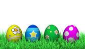 Velikonoční zdobení vajec