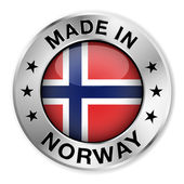 Made In Norway Silver Badge