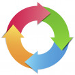 Business project management infographic design con...