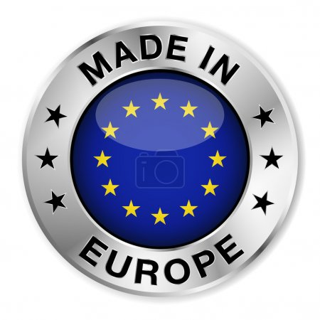 Made In Europe Silver Badge