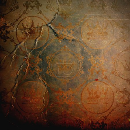 Photo for Grunge background. Vintage. Retro for your design - Royalty Free Image
