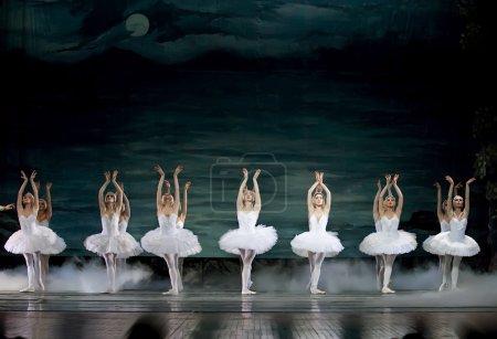 Photo pour Ballet royal russe au théâtre Jinsha 24 décembre 2008 à Chengdu, Chine . - image libre de droit