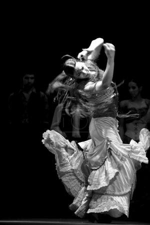 испанский танцор фламенко