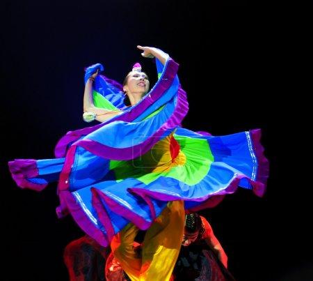 Chinese dancing girl