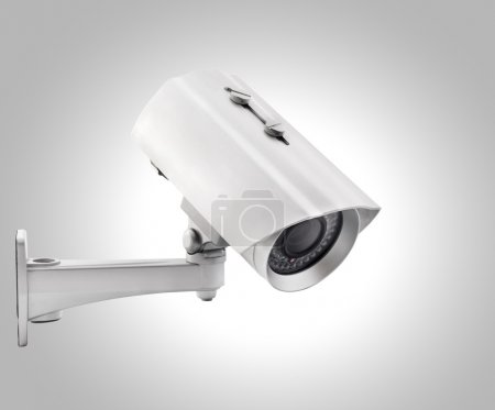 Photo for Day & Night Color wireless surveillance camera, isolated (with clipping paths) - Royalty Free Image