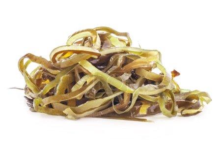 Photo pour Salade d'algues isolé sur fond blanc - image libre de droit