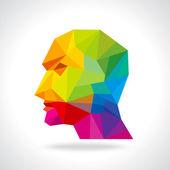 tête humaine penser une nouvelle idée
