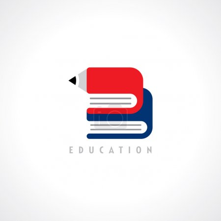 Illustration for School education design elements - Royalty Free Image