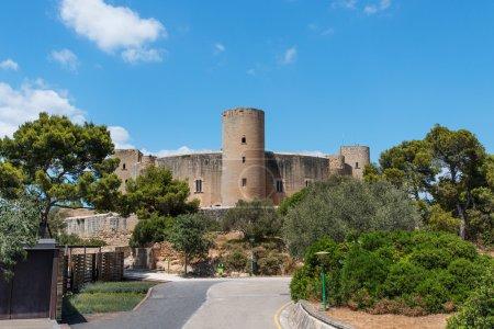 Bellver Castle Castillo tower in Majorca at Palma de Mallorca Ba
