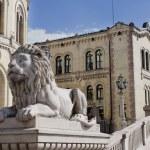 Norwegian parliament Storting Oslo, Norway...