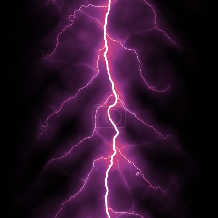 Electric lighting background pink