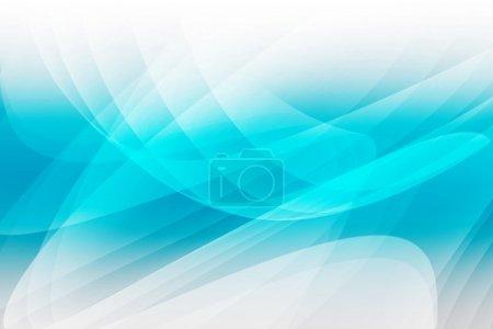 Photo pour Aqua Light Wave Résumé Conception de fond - image libre de droit