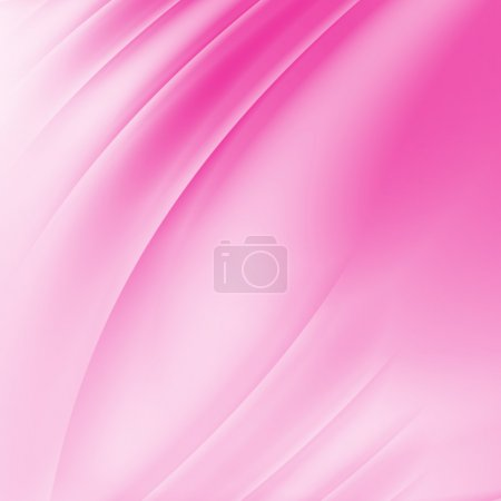 Pink Curved Abstract Background