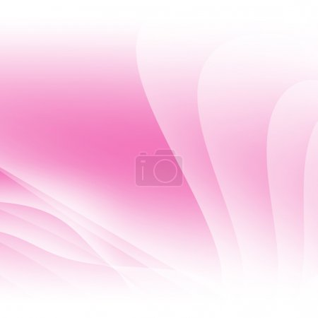 Foto de Rosa luz wave Abstact diseño - Imagen libre de derechos