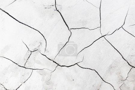 Photo pour Texture de fissure de ciment - image libre de droit