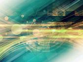 """Постер, картина, фотообои """"Зеленые технологии абстрактный фон"""""""