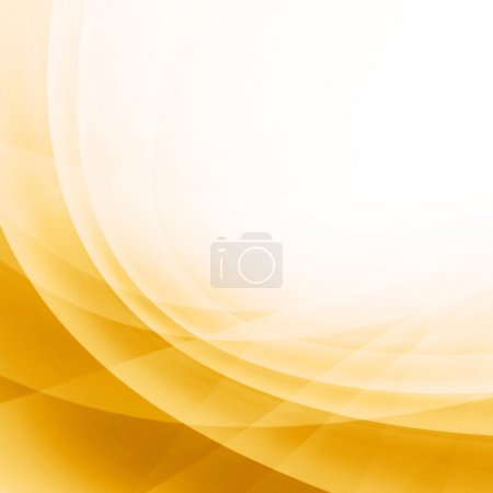 Photo for Yellow Curved Abstract Background - Royalty Free Image