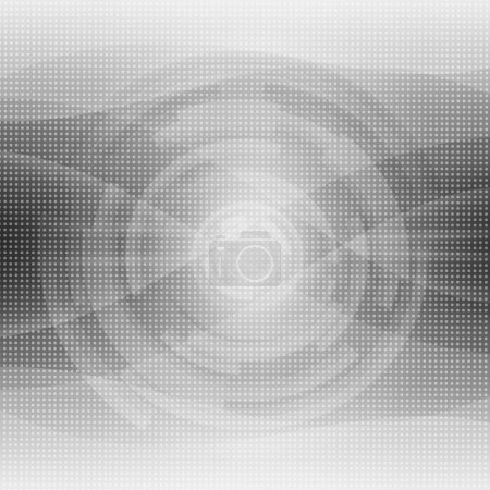 Photo for Black And White Futuristic Abstract background - Royalty Free Image