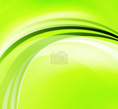 Photo for Green Abstract Background - Royalty Free Image