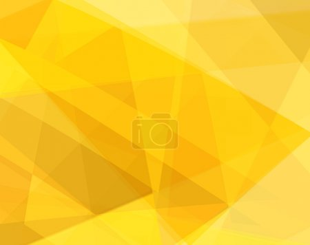 Photo for Yellow Abstract Background - Royalty Free Image
