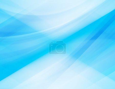 Photo pour Abstrait bleu - image libre de droit