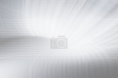 Photo for Grey Curves Futuristic Background - Royalty Free Image